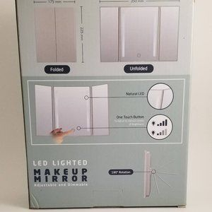 Jerry Box Bath - JerryBox Makeup Vanity Mirror with LED Lights